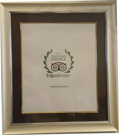 Marigold Regency: Travelers Choice Award