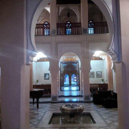 Palais Clementina : main reception area