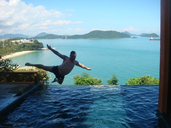 Sri Panwa Phuket Luxury Pool Villa Hotel: Ocena View Villa - Infinity Pool