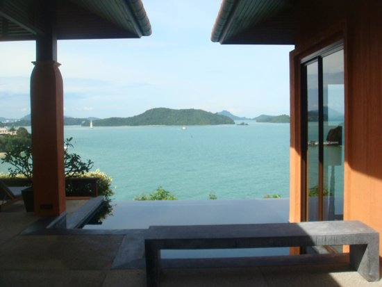 Sri Panwa Phuket Luxury Pool Villa Hotel: Entrance of Villa
