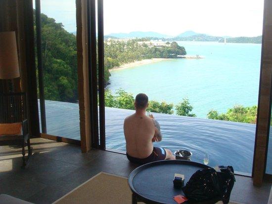 Sri Panwa Phuket Luxury Pool Villa Hotel: View from Villa