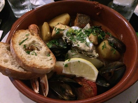 Mourne Seafood Bar: mixed seafood