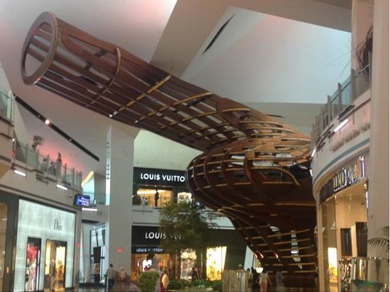 The treehouse inside Crystals shopping mall - Picture of