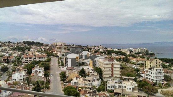 Tuntas Family Suites Kusadasi: View of 710 number room