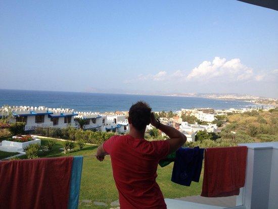 Bella Vista Village: Utsikten fra hotellrommet var superkoselig!