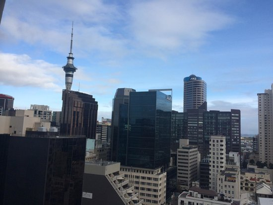 Auckland Harbour Oaks: View from level 17