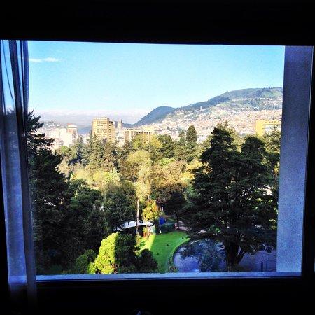 Hilton Colon Quito: View from Room 755