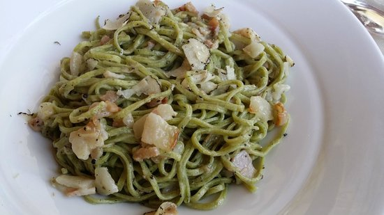 Hotel Ristorante Siro: Fettuccine con guangiale e tartufo