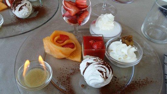 Hotel Ristorante Siro: Dolci & Frutta con flambè