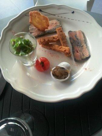 Le Domaine des dames: foie gras