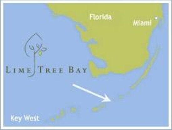 Lime Tree Bay Resort : Here we are in the Keys