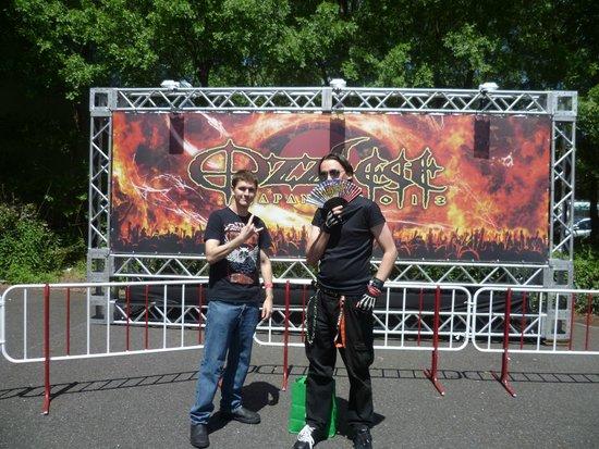 Makuhari Messe: Ozzfest 2013