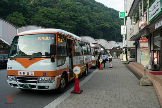 Bus to Tenseien Hotel