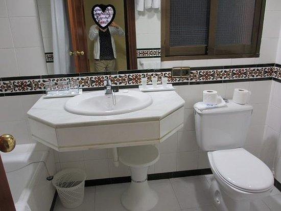 Hotel Alixares: 浴室