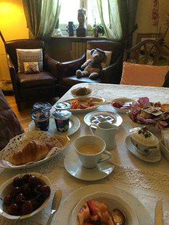All'Orso Poeta : Breakfast room