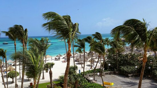 Hyatt Regency Aruba Resort and Casino: View from balcony Room 436