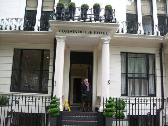 London House Hotel: Uma house londrina.