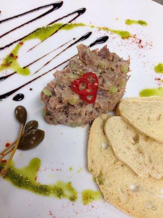 Soma Restaurant & wine bar : Rillette de Pato con gelatina de cava y Frutas negras
