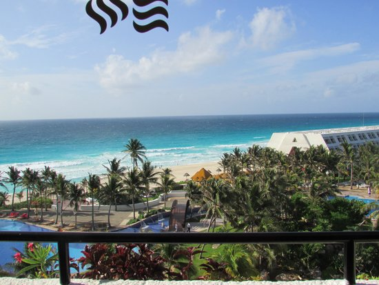 Grand Oasis Cancun : The view from our room