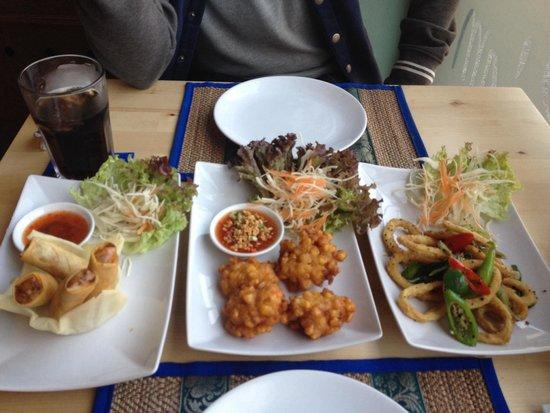 Siam Thai Restaurant: Lovely starters