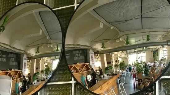 Loft Project Floors Exhibition Hall: Green Room Café top floor