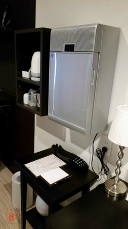 Centurion Hotel Ueno: mini wall fridge