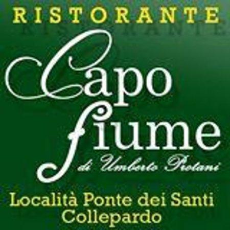 Collepardo, Italie : RISTORANTE CAPOFIUME