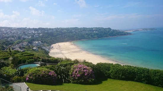 Carbis Bay looking towards St Ives