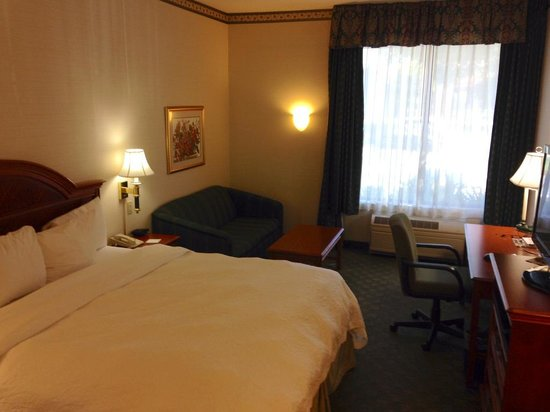 Hampton Inn San Francisco-Airport: Bedroom area