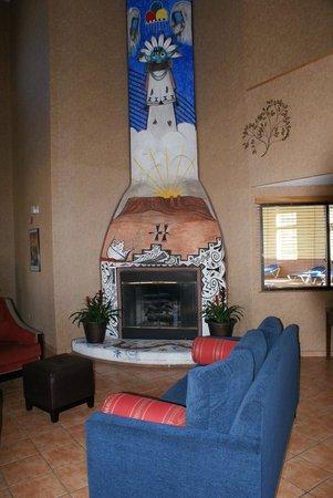 Comfort Inn Santa Fe: Bien agréable en hiver !
