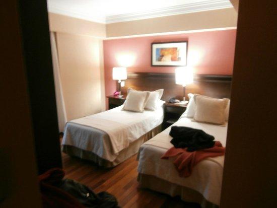 Premium Tower Suites Mendoza: Quarto