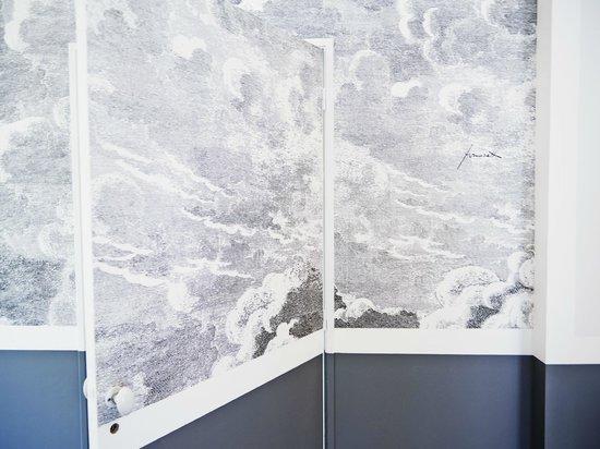 La Dime de Giverny : papier peint