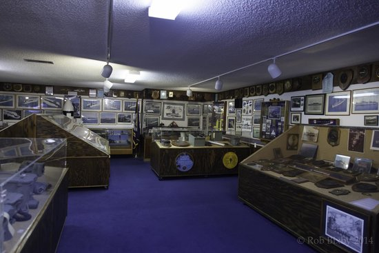 St. Marys Submarine Museum: Historical memorabilia, documents, photos fill every inch of the museum
