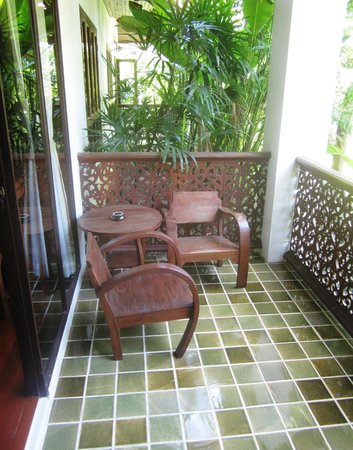 Baan Orapin Bed and Breakfast: Individual balcony