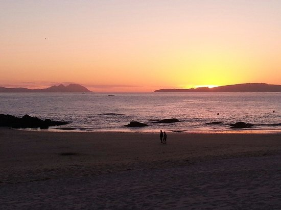 Playa Samil: Samil Beach. The best! In Vigo.