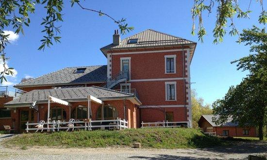 Gîte les Dormillouses : La Maison côté Ouest