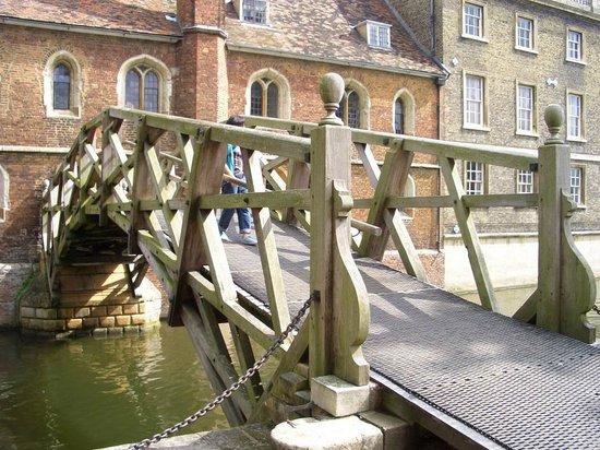 The River Cam : Mathematical Bridge