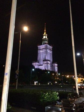 InterContinental Hotel Warsaw: varsavia palazzo della cultura e della scienza
