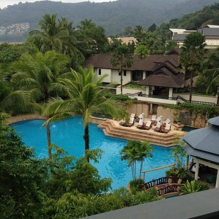 Diamond Cliff Resort and Spa : View from room