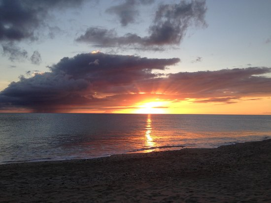 Keyonna Beach Resort Antigua: Great Sunsets