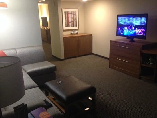 Hyatt Place Minneapolis/Downtown : Living area
