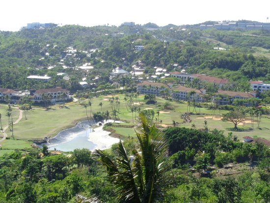 Fairways & Bluewater: View from the mountain