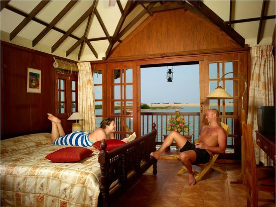 Poovar Island Resort Floating Cottage Interior
