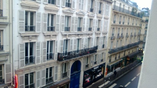Hotel Design Secret de Paris: View from the room