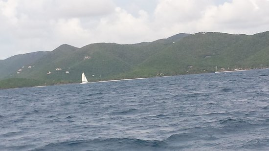 Sail Safaris: view from boat