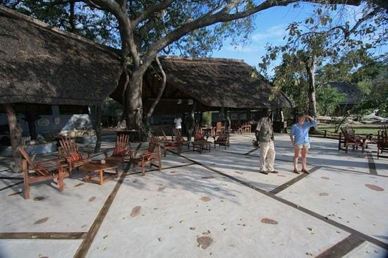 Kafunta River Lodge: The Lapa