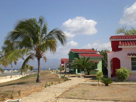 Beach bungalows at Club Amigo Costasur