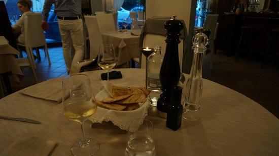 Scalo del Granduca: Table setting