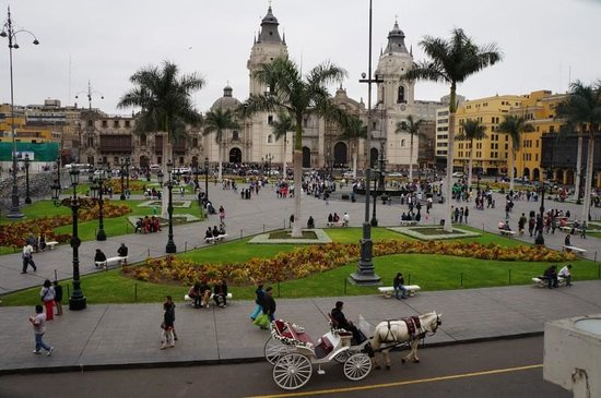 JW Marriott Hotel Lima: Lima Main Square