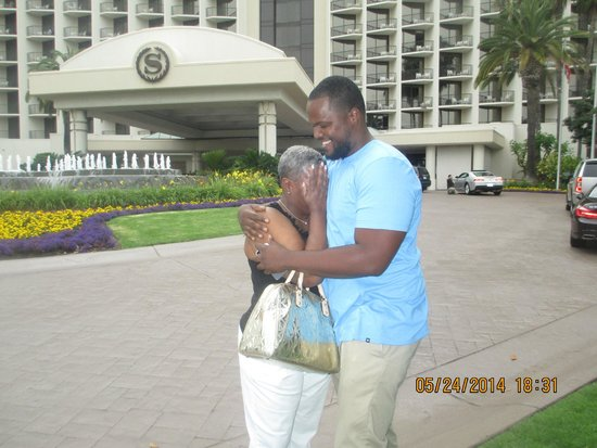 The Sheraton San Diego Hotel & Marina : My first time seeing my son after 10 yrs
